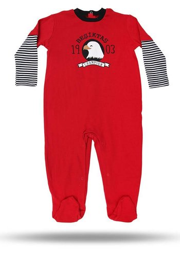 BJK BABY ROMPER 02 RED
