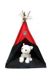 BJK Tente pour animaux domestiques rouge