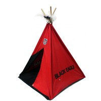 BJK Pet tent red