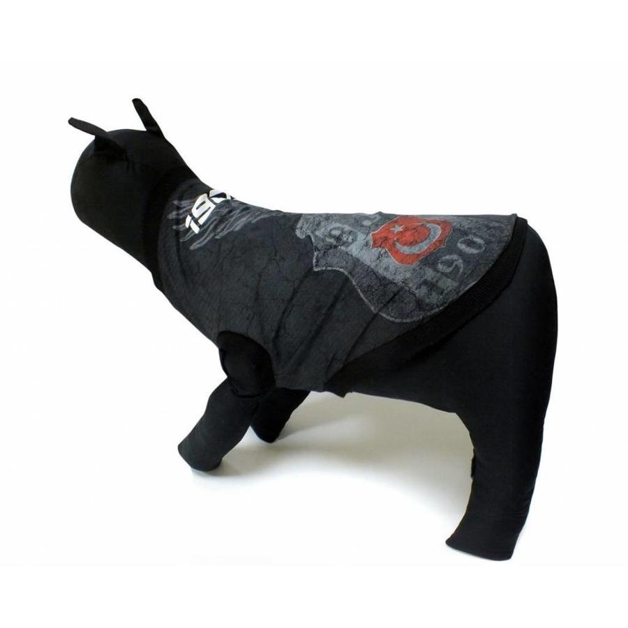 BJK Hunde T-Shirt schwarz