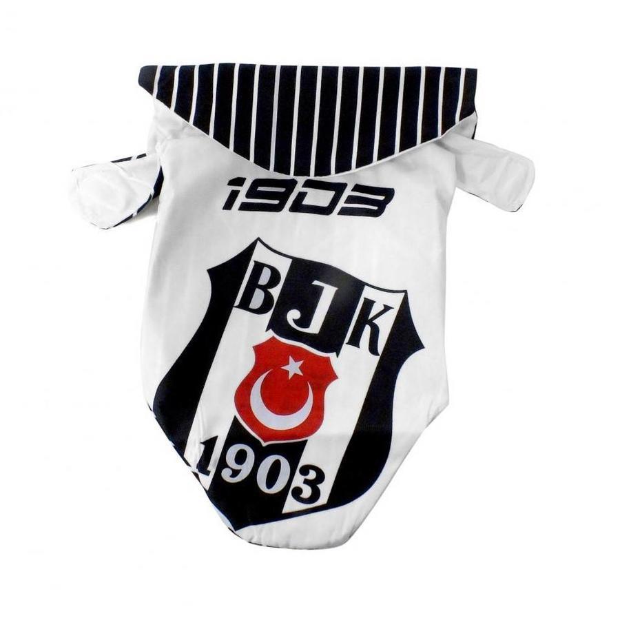 BJK Dog Raincoat White