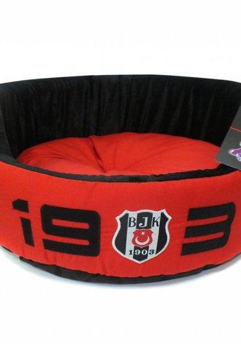 BJK Indoor Bed Large Red