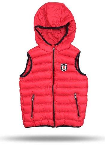Beşiktaş Hooded bodywarmer kinderen rood 6718608