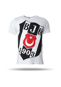 Beşiktaş T-shirt à manches courtes hommes blanc 7718110