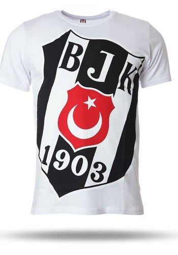 Beşiktaş T-shirt short sleeves men white 7718110