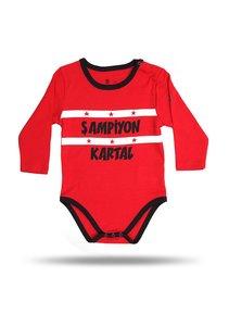 Beşiktaş Body bébé 01 rouge