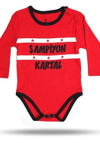 Beşiktaş Baby body 01 red