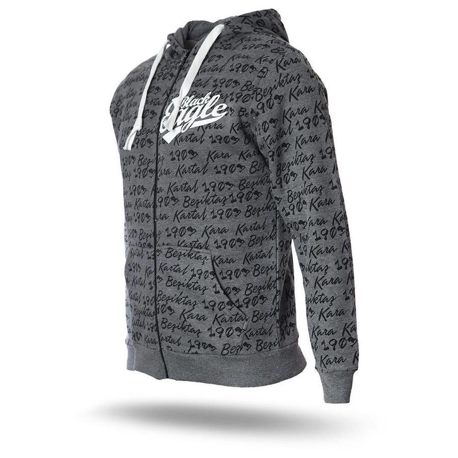 Beşiktaş Hooded sweater heren 7718274 grijs