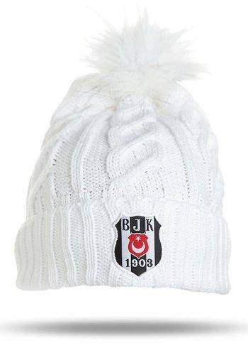 Beşiktaş Mütze 09 weiβ