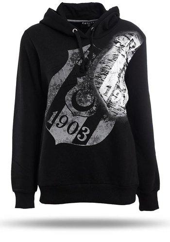 Beşiktaş Hooded Sweater Dames K8718291 Zwart