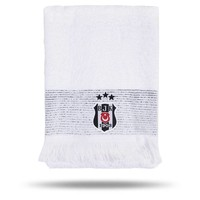 Beşiktaş 50*90 Wit Gezichtshanddoek