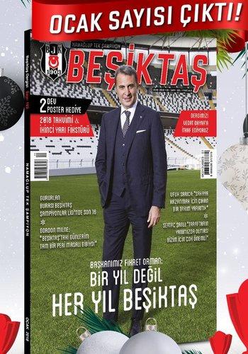 Beşiktaş Zeitschrift 2018/01