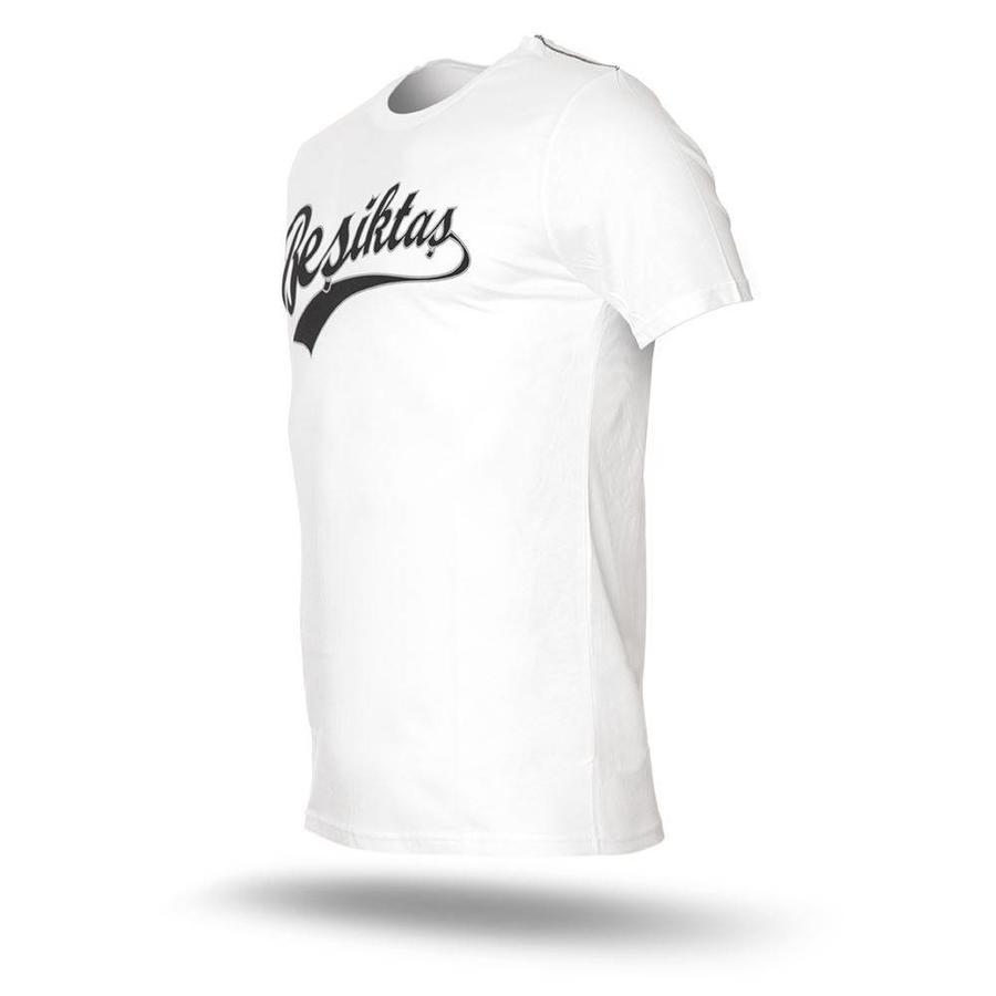 Beşiktaş College T-Shirt Heren 7718101 Wit