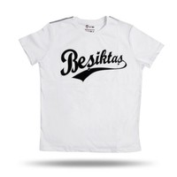 Beşiktaş College T-Shirt Kinder 6718101 Weiβ
