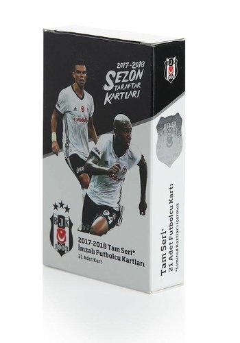 Beşiktaş 2017-18 Saison Fankarte 21 st. Komplette Serie