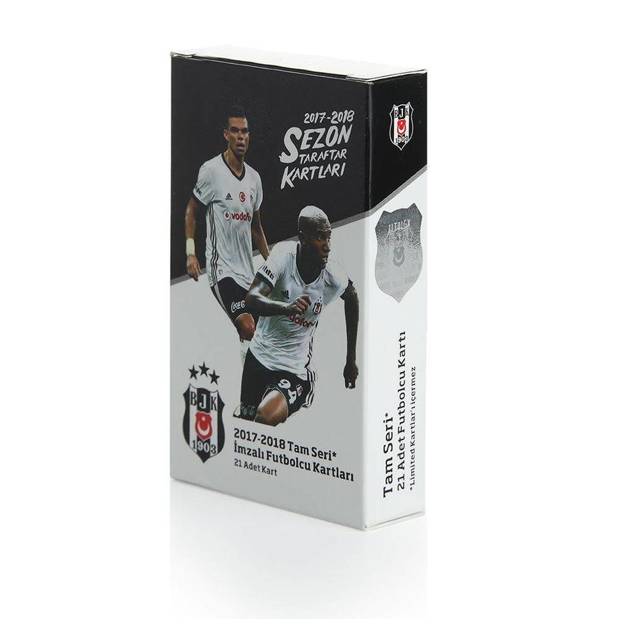 Beşiktaş 2017-18 Season Fan Card 21 pcs. Complete Series