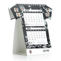 Beşiktaş 2018 In shirtvorm gesneden tafelkalender