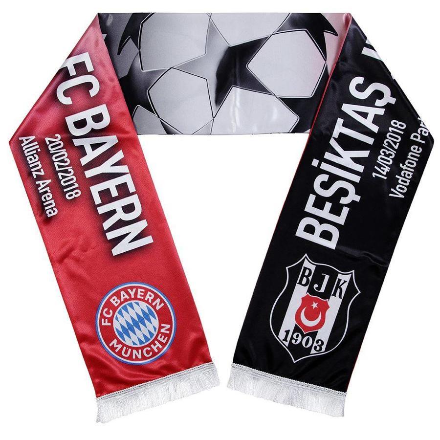 BEŞİKTAŞ JK - FC BAYERN Spielschal Satin