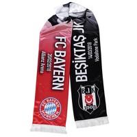 BEŞİKTAŞ JK - FC BAYERN Game scarf satin