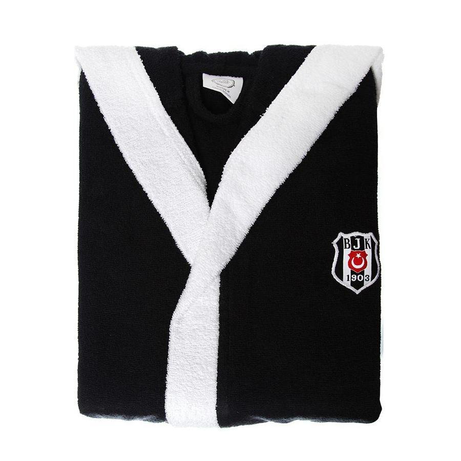Beşiktaş kids logo bathrobe