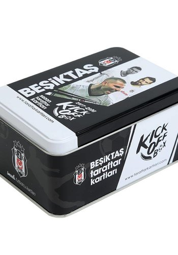 Beşiktaş 2017-18 Season Kick off box Fan Card Tin Box