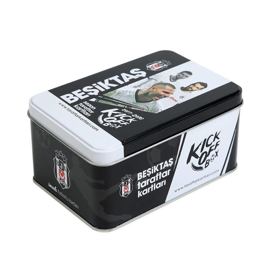 Beşiktaş 2017-18 Saison Kick off box Fankarte Blechdose