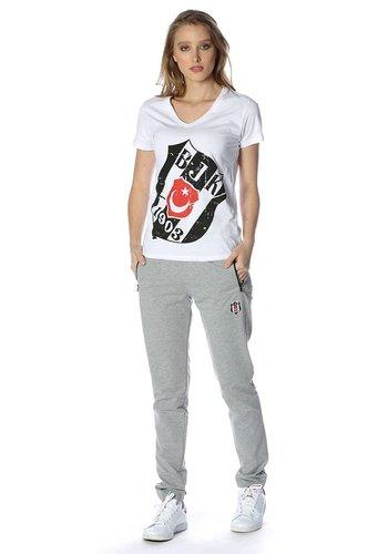 Beşiktaş womens classic training pants 8818400 Grey