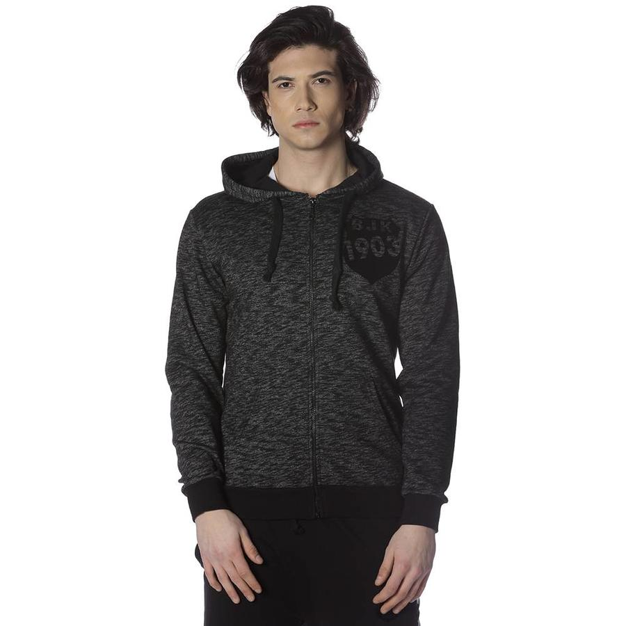 Beşiktaş Flock Logo Hooded sweater heren 7818202