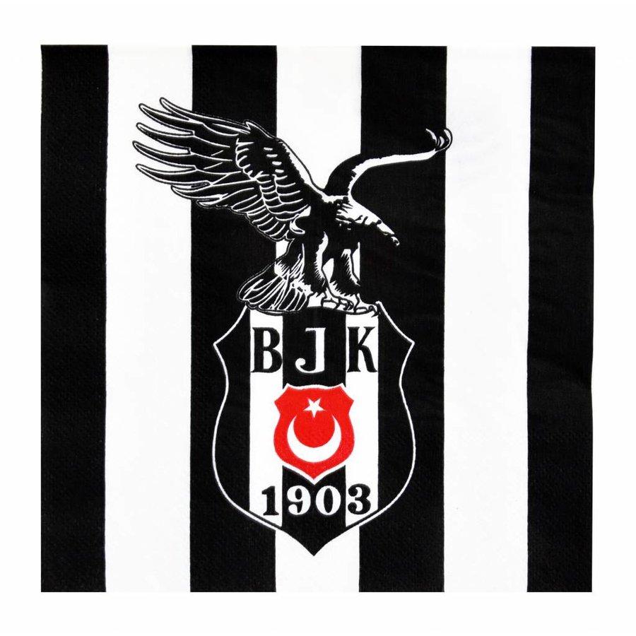 Beşiktaş Papieren Servietten 16 st. 33*33