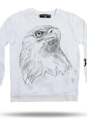 Beşiktaş Holzkohle Zeichnung Sweater Kinder 6818211
