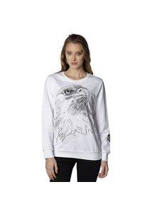 Beşiktaş Holzkohle Zeichnung Sweater Damen 8818211