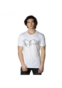 Beşiktaş Mens College T-Shirt Special printed 7818103 White