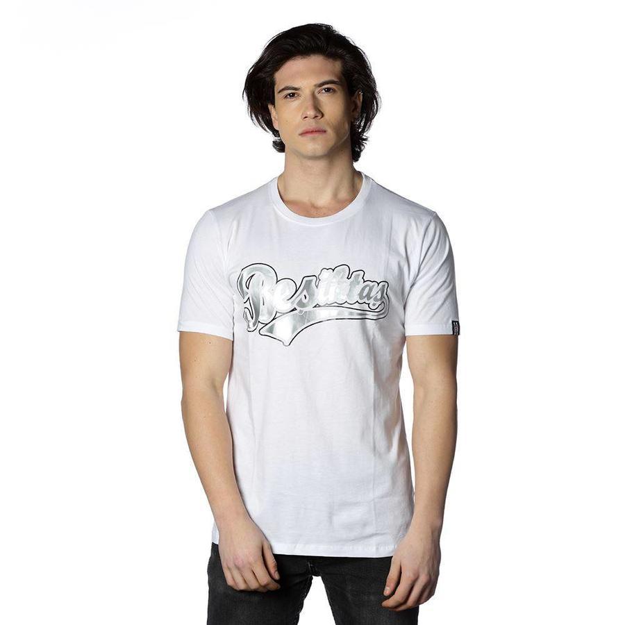 Beşiktaş College T-Shirt pour hommes imprimé spécial 7818103 Blanc