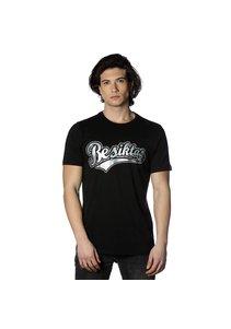 Beşiktaş College T-Shirt pour hommes imprimé spécial 7818103 Noir