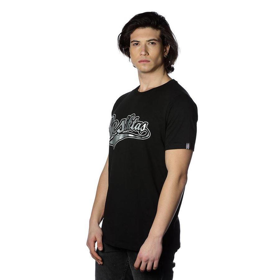 Beşiktaş Mens College T-Shirt Special printed 7818103 Black