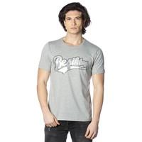 Beşiktaş College T-Shirt pour hommes imprimé spécial 7818103 Gris