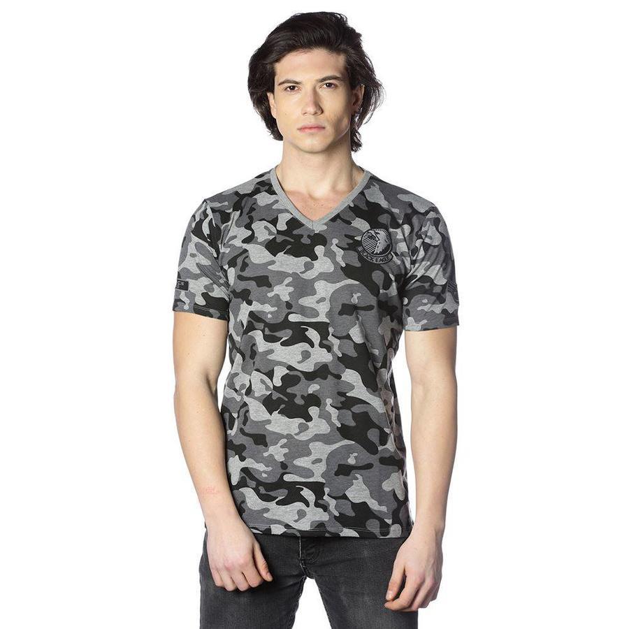 Beşiktaş Army Camouflage T-Shirt Heren 7818109
