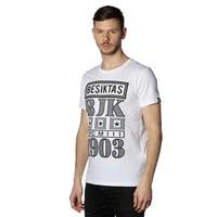Beşiktaş Billboard T-Shirt Heren 7818131 Wit