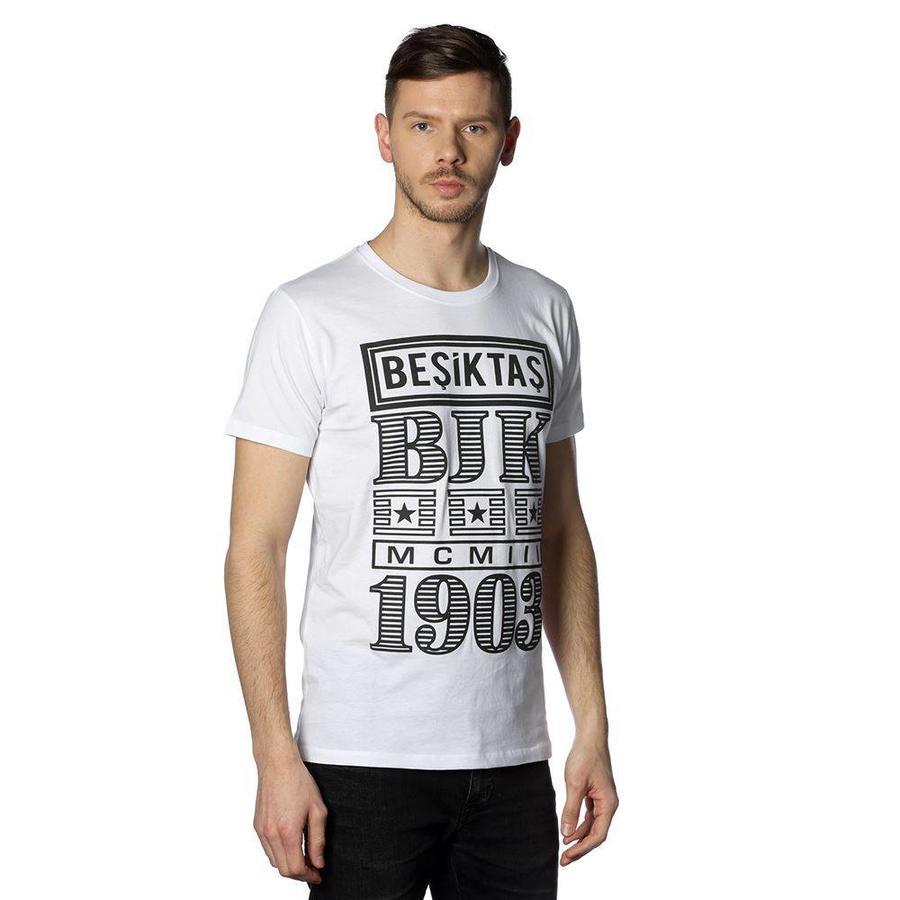 BEŞİKTAŞ BILLBOARD ERKEK T-SHIRT 7818131 Beyaz