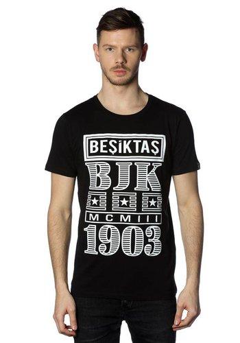 BEŞİKTAŞ BILLBOARD ERKEK T-SHIRT 7818131 Siyah