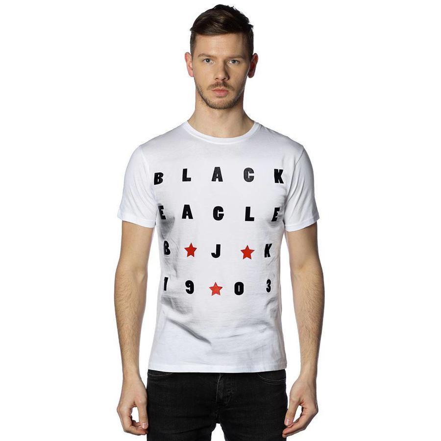Beşiktaş Bord T-Shirt Heren 7818134 Wit