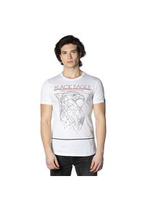 Beşiktaş Dessin Aigle T-Shirt pour Hommes 7818142 Blanc