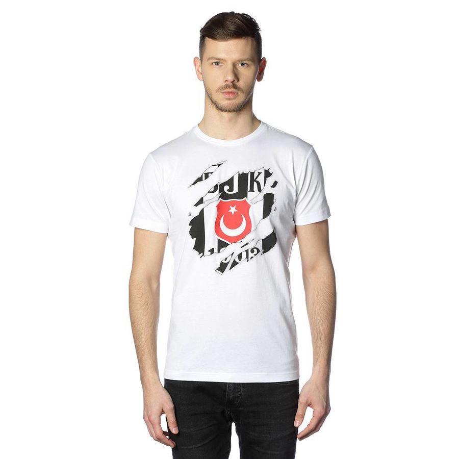 Beşiktaş Mens Claw logo T-Shirt 7818112 White