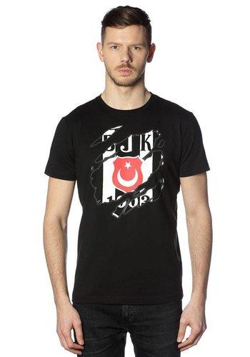Beşiktaş Mens Claw logo T-Shirt 7818112 Black