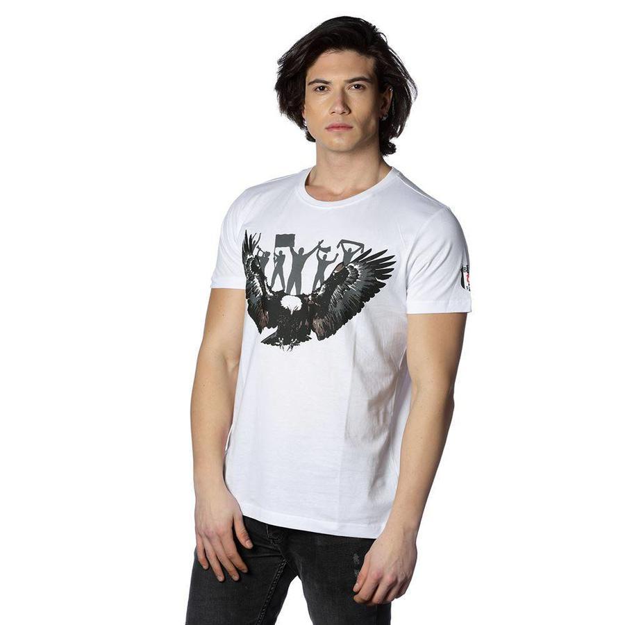Beşiktaş Arend Supporter T-Shirt 7818118 Wit