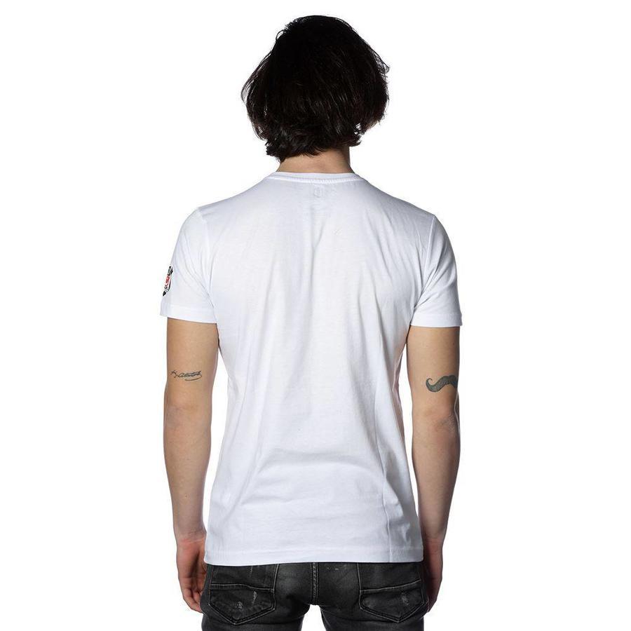 Beşiktaş Adler Fan T-Shirt 7818118 Weiβ