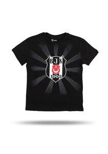 Beşiktaş Sonnenlogo T-Shirt Kinder 6818107 Schwarz