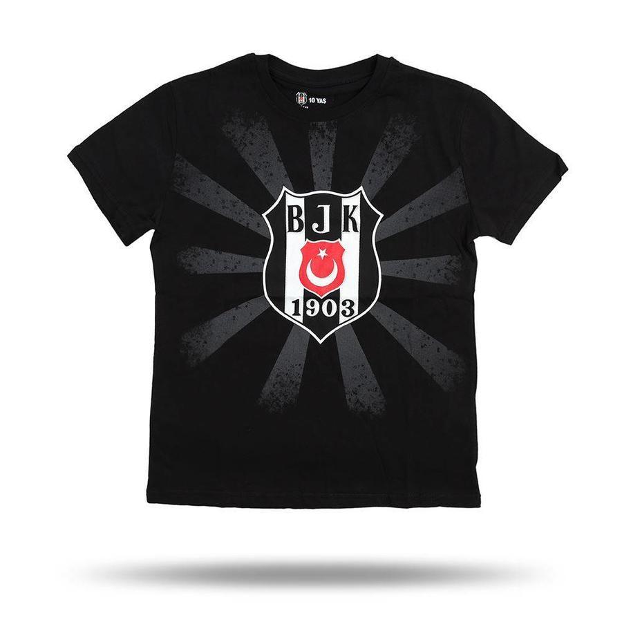 Beşiktaş Logo Soleil T-Shirt pour Enfants 6818107 Noir