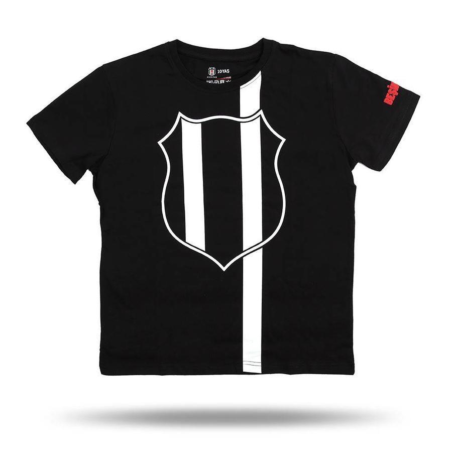 Beşiktaş Kids Vertical Line Logo T-Shirt 6818115