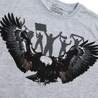 Beşiktaş Kids Eagle Fan T-Shirt 6818118 Grey